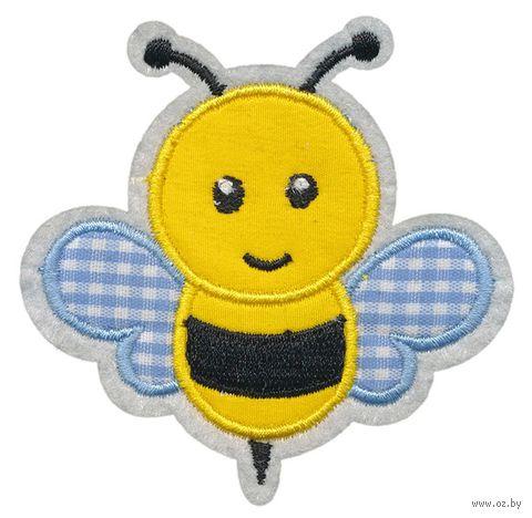 "Термоаппликация ""Забавная пчёлка"" — фото, картинка"