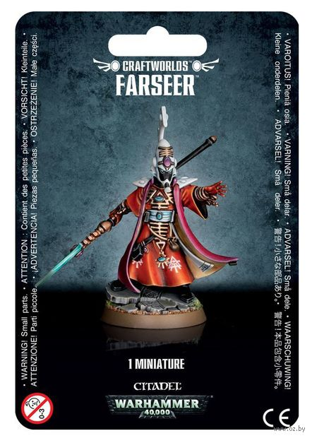 Warhammer 40.000. Craftworlds. Farseer (46-05) — фото, картинка
