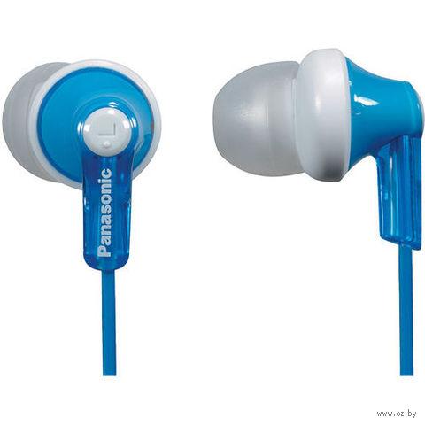 Наушники Panasonic RP-HJE118GUA (синие) — фото, картинка