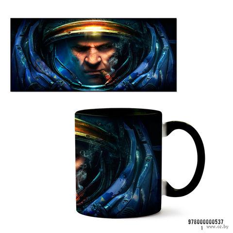 """Кружка """"StarCraft 2"""" (черная) — фото, картинка"""
