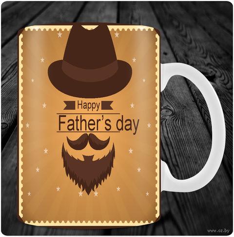 "Кружка ""Happy Father's Day"" (арт. 16) — фото, картинка"