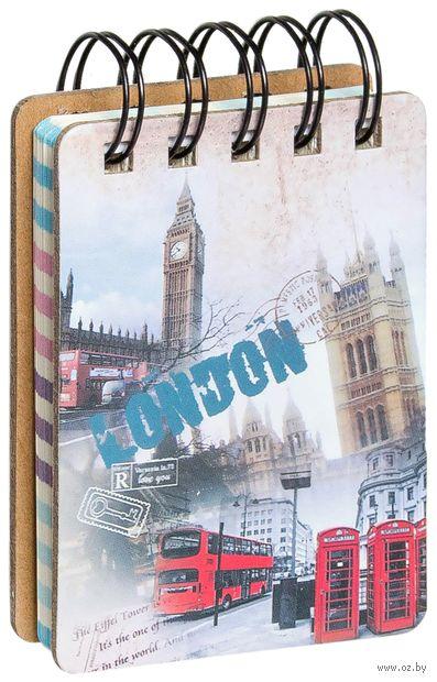 "Блокнот в линейку ""London"" (А7; в ассортименте) — фото, картинка"