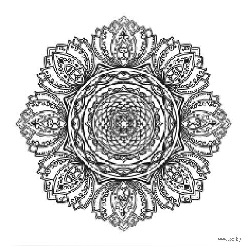 "Холст на подрамнике с эскизом ""Мандала"" (300х300 мм; арт. 1411168) — фото, картинка"