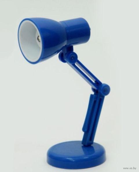 Мини-лампа (синяя; арт. 39687) — фото, картинка