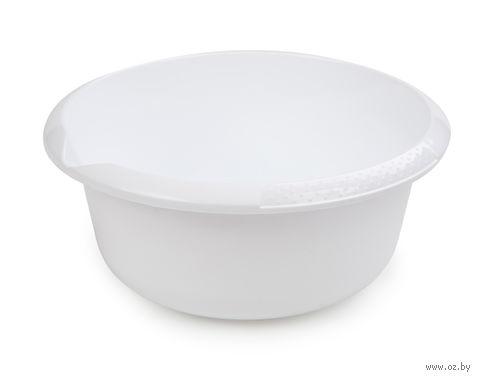 Миска (2,5 л; снежно-белый) — фото, картинка