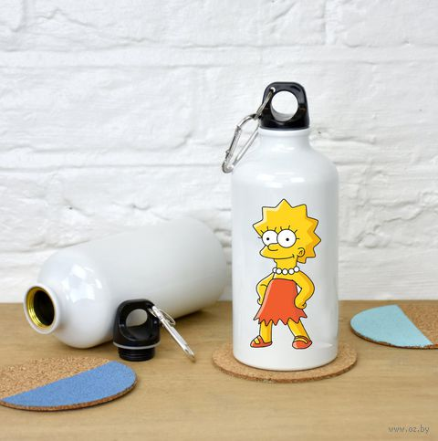 """Бутылка """"Симпсоны. Лиза"""" (500 мл; арт. 105) — фото, картинка"""