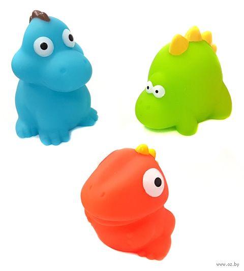 """Набор игрушек для купания """"Динозавры"""" (3 шт.) — фото, картинка"""