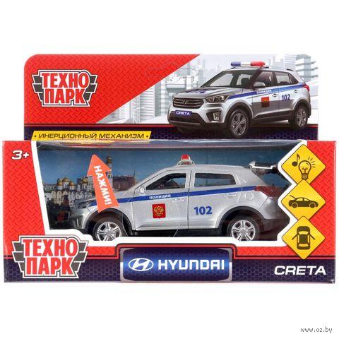 """Модель машины """"Hyundai Creta. Полиция"""" (со световыми и звуковыми эффектами; арт. CRETA-P-SL) — фото, картинка"""