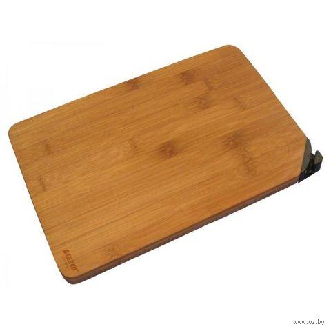 Доска разделочная бамбуковая (400х300 мм) — фото, картинка