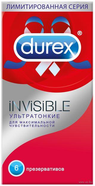 """Презервативы """"Invisible"""" (6 шт.) — фото, картинка"""