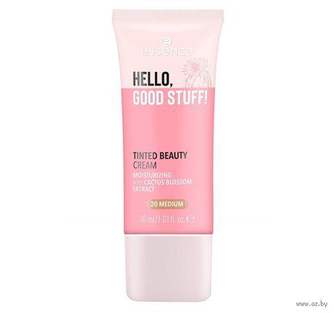 "Тонирующий крем для лица ""Hello, good stuff"" тон: 20 — фото, картинка"