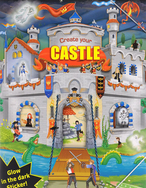 "Альбом с наклейками ""Creative Studio. Create your Castle"""