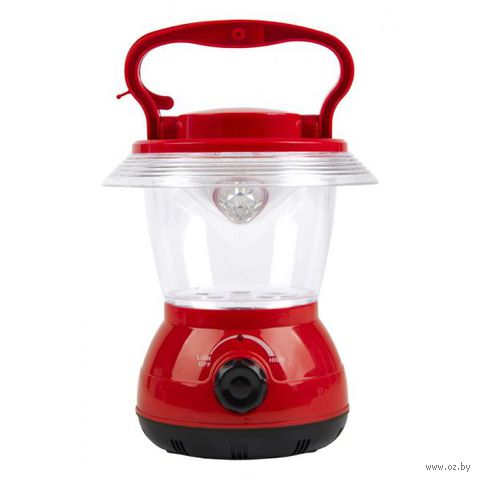 Фонарь аккумуляторный кемпинговый 12 LED (красный) — фото, картинка
