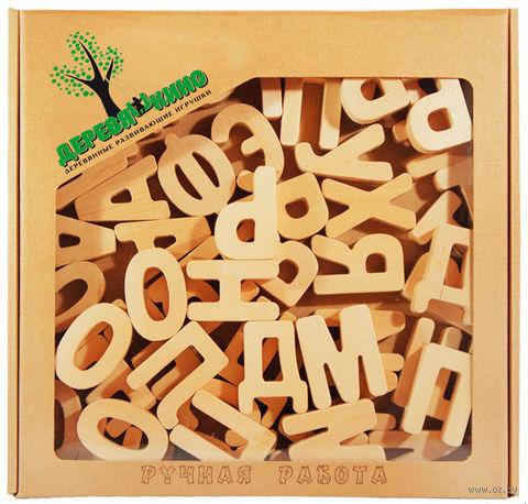 """Набор деревянных заготовок """"Буквы"""" (52 шт.) — фото, картинка"""