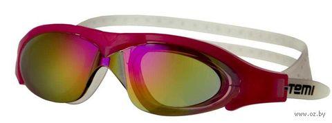 Очки для плавания (розовые; арт. N5201) — фото, картинка