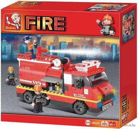 """Конструктор """"Пожарные спасатели"""" (281 деталь) — фото, картинка"""