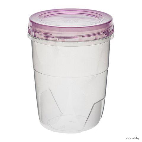 Банка для сыпучих продуктов пластмассовая (0,6 л; арт. 433-43300) — фото, картинка