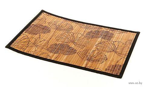 Подставка сервировочная бамбуковая окрашенная (30*45 см, арт. 4900034)
