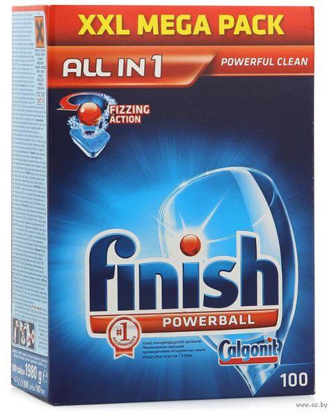 "Таблетки для посудомоечных машин FINISH ""All in 1"" (100 шт)"