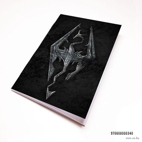 "Блокнот белый ""Скайрим"" А7 (арт. 348)"