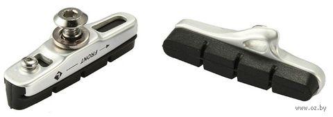 """Колодки тормозные для велосипеда """"456CL"""" (чёрные; 55 мм) — фото, картинка"""