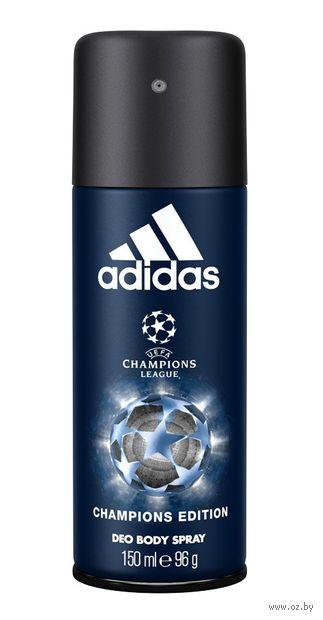"Дезодорант парфюмерный для мужчин ""Champions League"" (спрей; 150 мл) — фото, картинка"