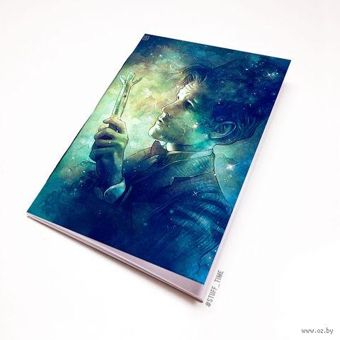 "Блокнот белый ""Доктор Кто"" А6 (арт. 871)"