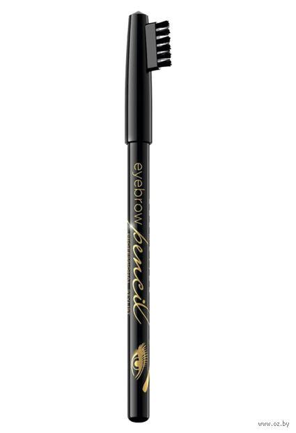 """Карандаш для бровей """"Eyebrow pencil"""" (тон: черный) — фото, картинка"""