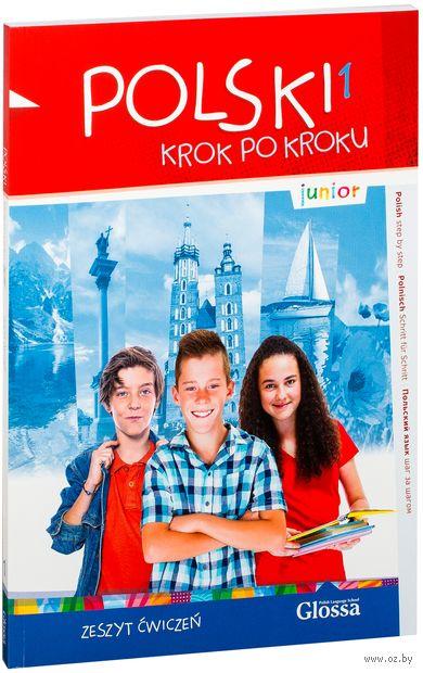 Polski krok po kroku. Junior 1. Zeszyt ćwiczeń (+ CD) — фото, картинка
