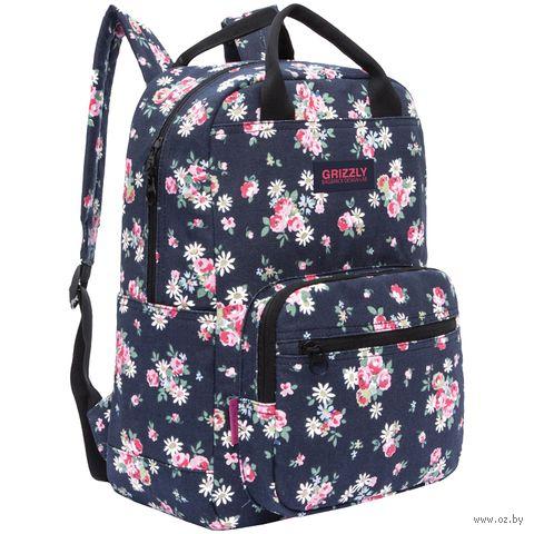 """Рюкзак """"Flowers"""" (13 л; синий) — фото, картинка"""