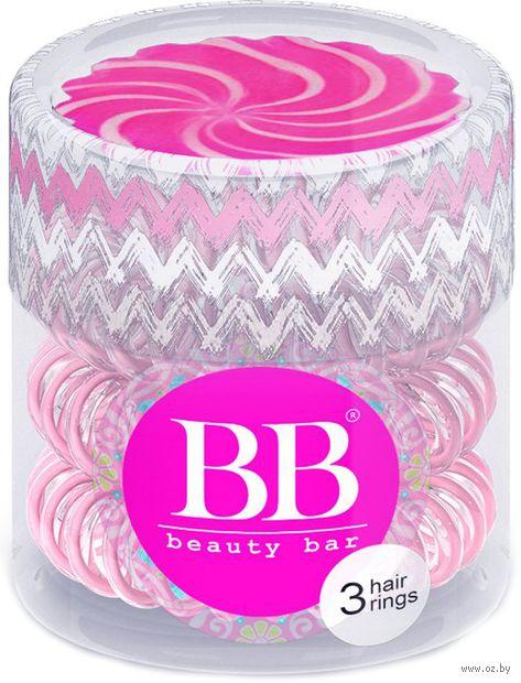 """Резинка для волос """"Beauty Bar"""" (3 шт, арт. 820107) — фото, картинка"""