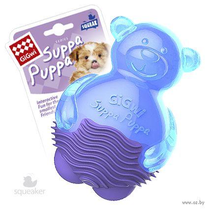 """Игрушка для собак с пищалкой """"Мишка"""" (10 см) — фото, картинка"""