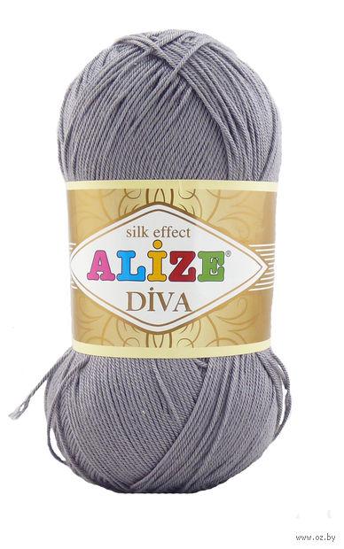 """Пряжа """"ALIZE. Diva Stretch №348"""" (100 г; 400 м) — фото, картинка"""