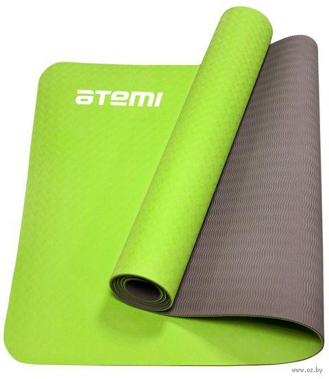 """Коврик для йоги """"AYM01TPE"""" (173x61x0,4 см; двухцветный) — фото, картинка"""