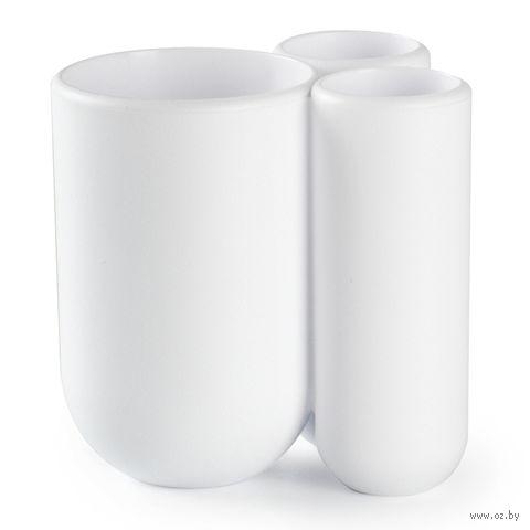 "Подставка для зубных щеток ""Touch"" (белая) — фото, картинка"
