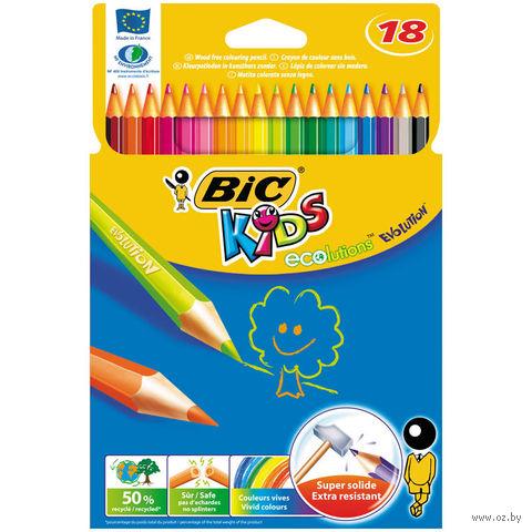 """Цветные карандаши """"Evolution 93"""" (18 цветов)"""
