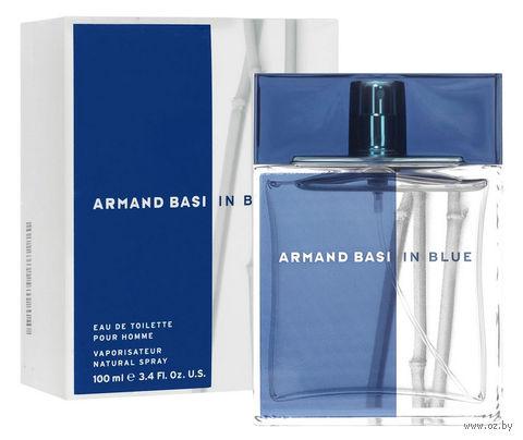 """Туалетная вода для мужчин Armand Basi """"In Blue"""" (100 мл)"""