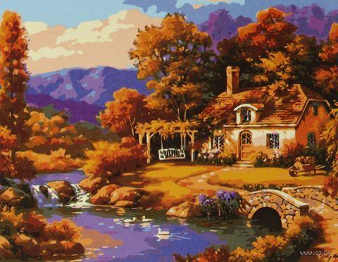 "Картина по номерам ""Романтичный пейзаж"" (400x500 мм)"