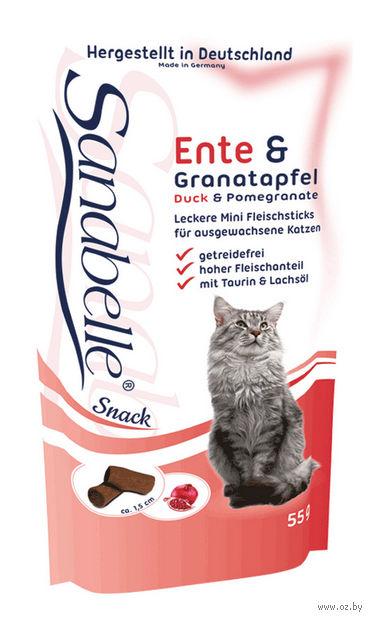 """Лакомство для кошек """"Cat Sticks"""" (55 г; утка и гранат) — фото, картинка"""