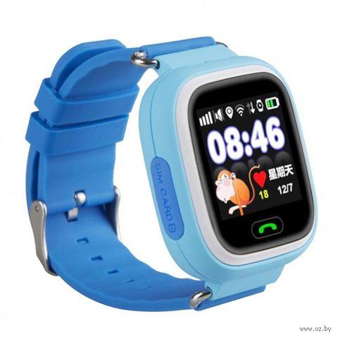 Детские часы SmartBabyWatch Q80 (голубые) — фото, картинка