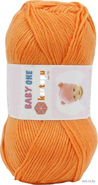 "Пряжа ""KARTOPU. Baby One №K256"" (100 г; 250 м; оранжевый) — фото, картинка"