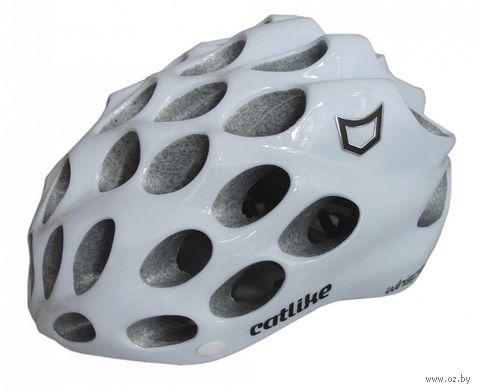 "Шлем велосипедный ""Whisper Plus"" (L; белый) — фото, картинка"
