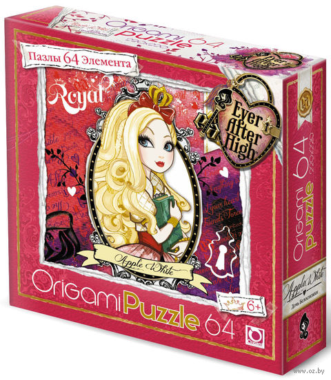 """Пазл """"Ever After High"""" (64 элемента; арт. 00679)"""