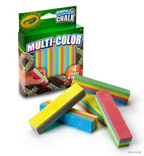 """Мел цветной """"Crayola"""" (4 цвета)"""