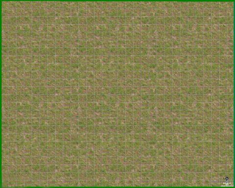"""Коврик """"Трава и земля"""" (58x71 см; ламинированный, складной)"""