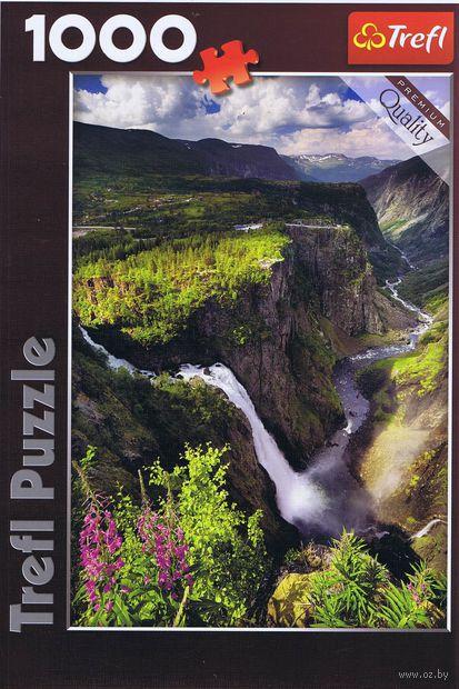 "Пазл ""Водопад Вёрингсфоссен. Норвегия"" (1000 элементов)"