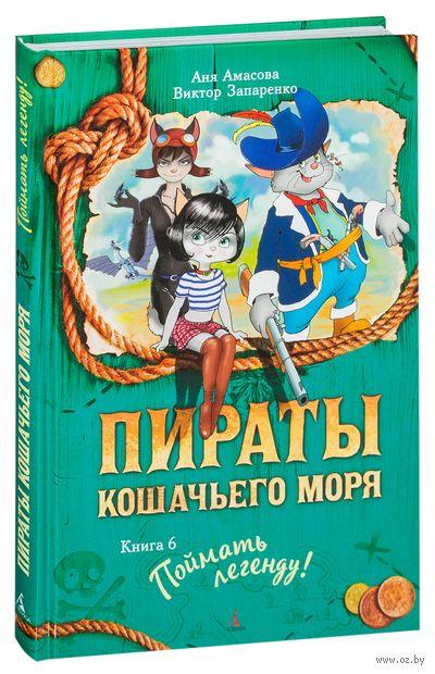 Пираты Кошачьего моря. Поймать легенду. Книга 6 — фото, картинка