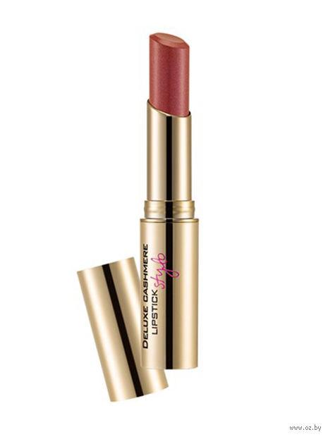 """Помада для губ """"Deluxe Cashmere Lipstick Stylo"""" (тон: 35, starry rose) — фото, картинка"""