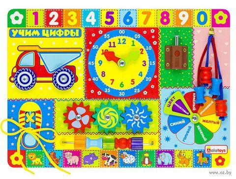 """Бизиборд """"Учим цифры"""" — фото, картинка"""