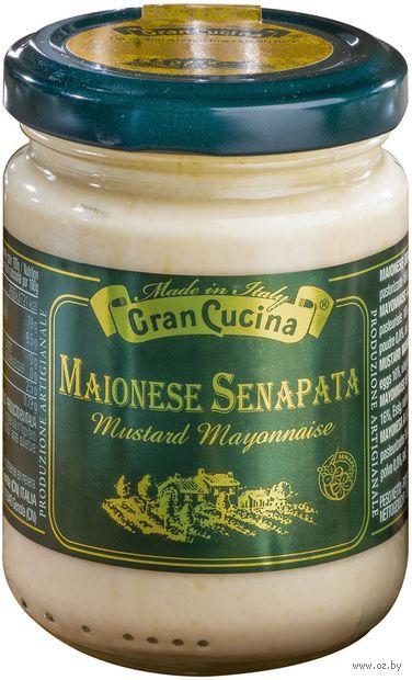 "Майонез ""Gran Cucina. С горчицей"" (120 г) — фото, картинка"